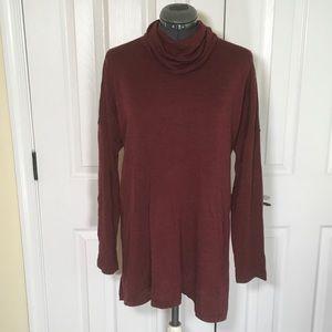 New w tags Eileen Fisher Turtleneck Wool Sweater M
